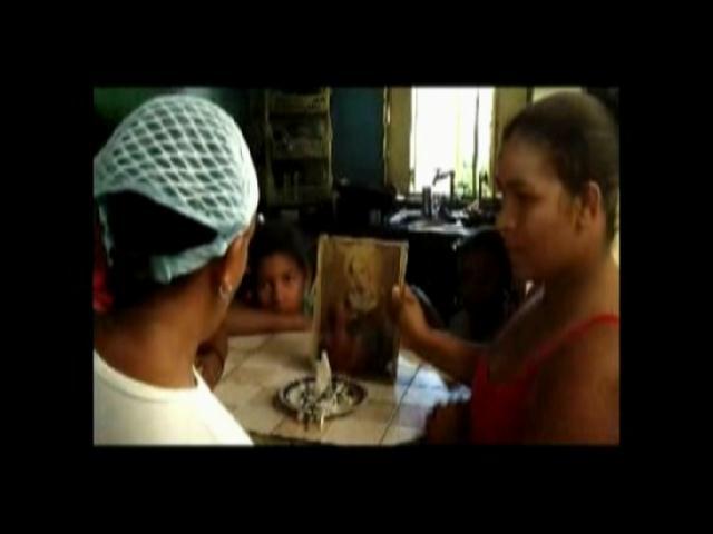 Aparece imagen de la Virgen del Rosario en Azua