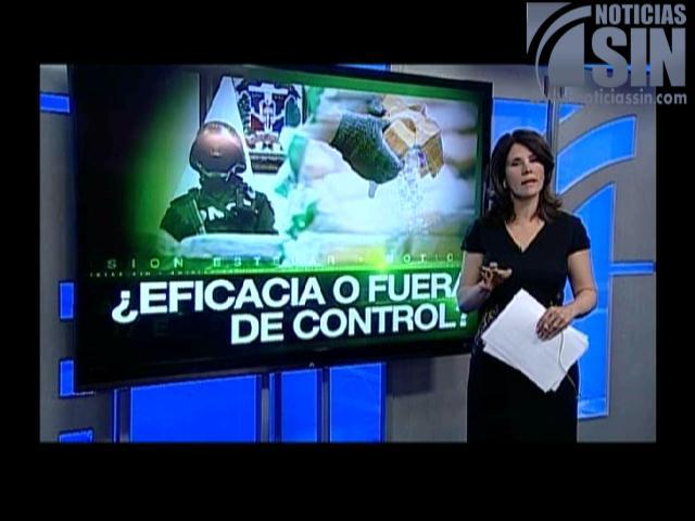 Alicia Ortega: Eficiencia o había menos controles en decomiso de droga
