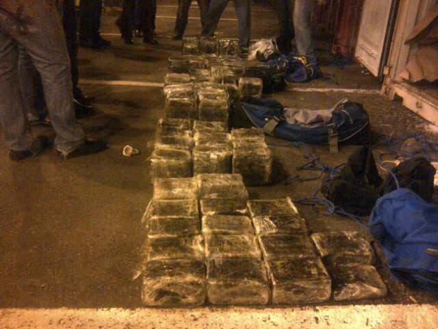 Ocupan 198 paquetes de cocaína que iban a Italia camuflados en cacao
