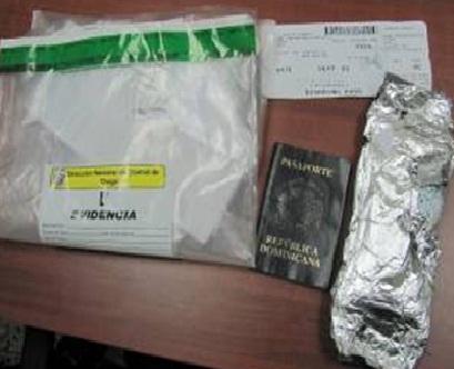 DNCD apresa dos hombres iban a Nueva York con 20 mil pastillas éxtasis
