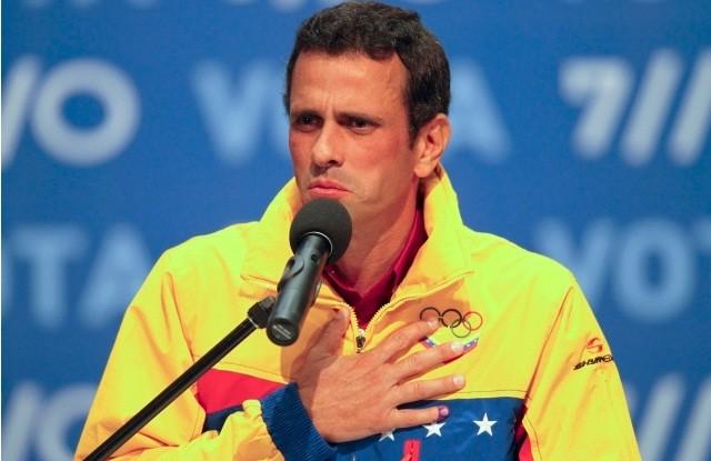 Capriles acusa al gobierno venezolano de robarse el proceso electoral