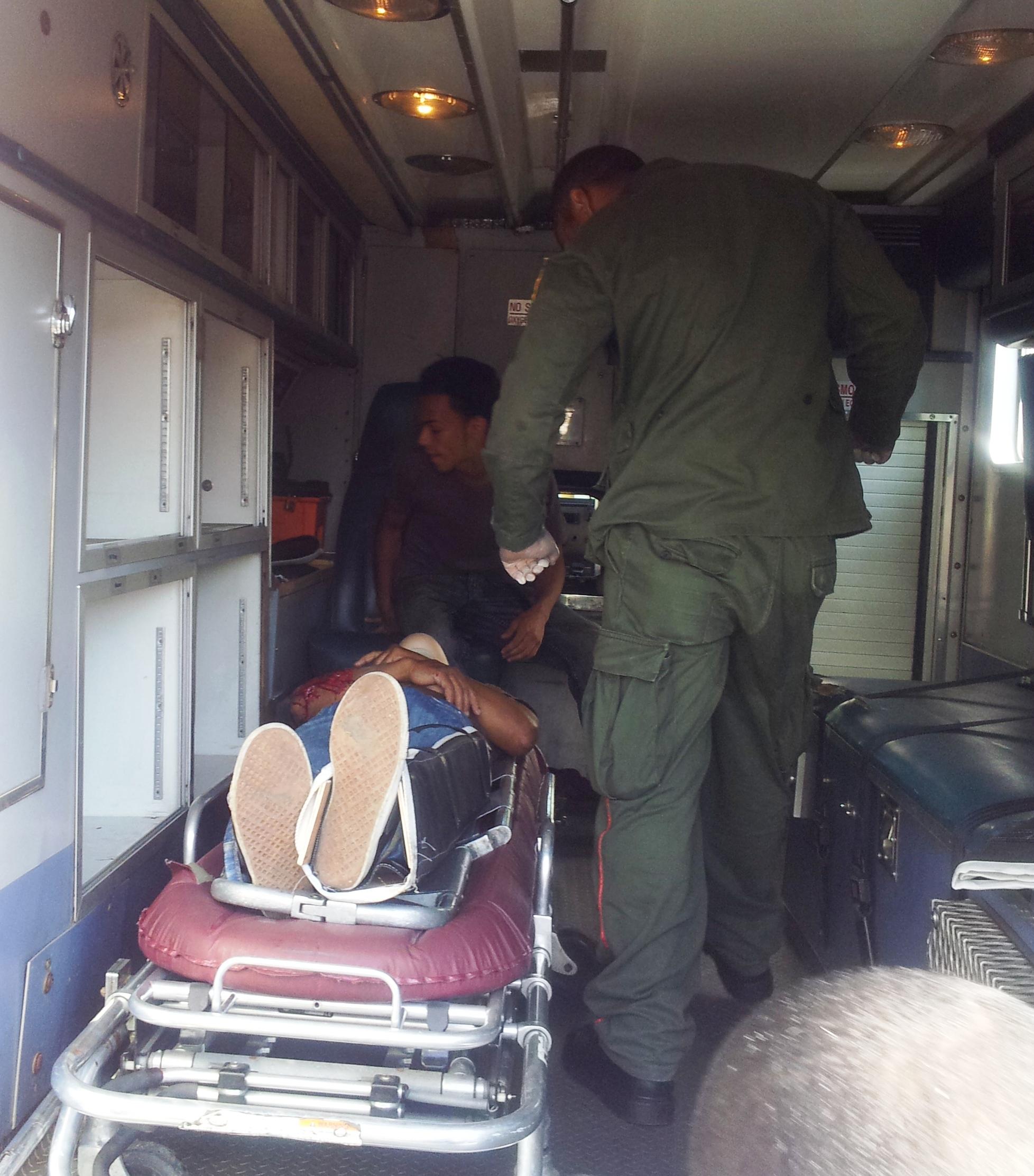 Hombre gravemente herido en accidente de tránsito en SFM