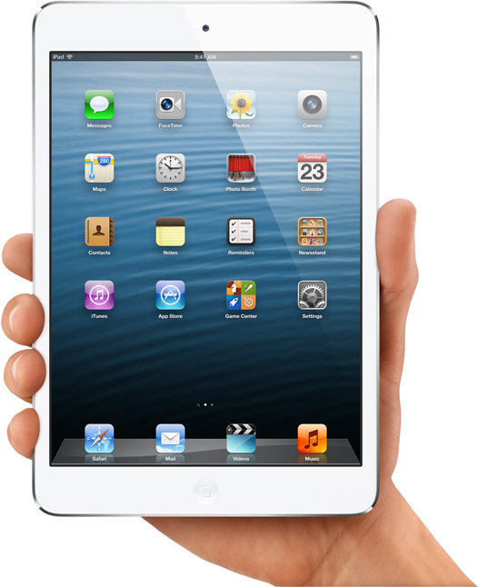 EE.UU. niega a Apple la patente del iPad mini
