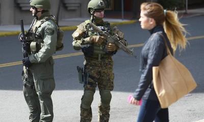 Evacuan juzgados Boston por amenaza de bomba, según televisión local
