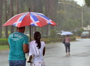 Onamet informa vientos y humedad provocarán chubascos
