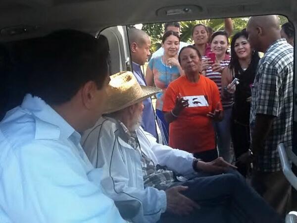En Cuba Maduro se reunión con Fidel y Raúl Castro