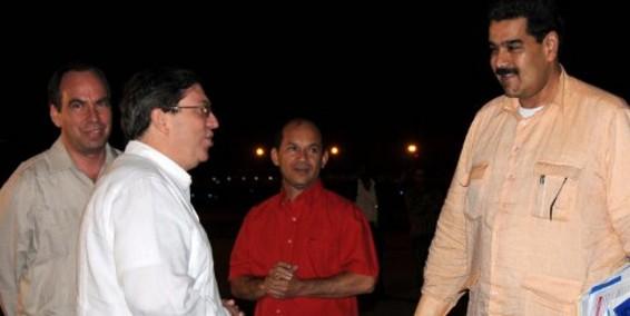 Nicolás Maduro arriba a Cuba en primera visita oficial