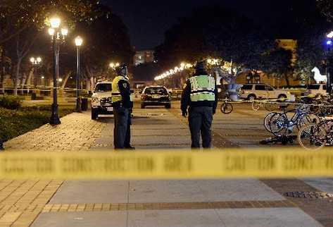 Muere policía tiroteado en campus universitario cerca de Boston