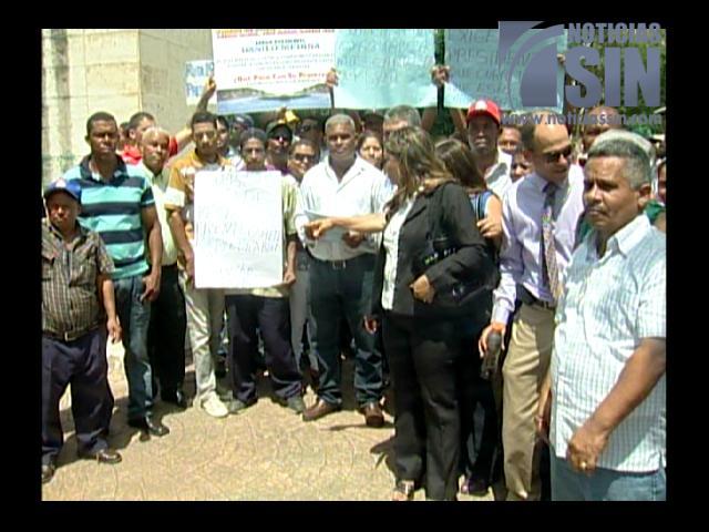 Protestan por arreglo de carretera Rancho Arriba Piedra Blanca