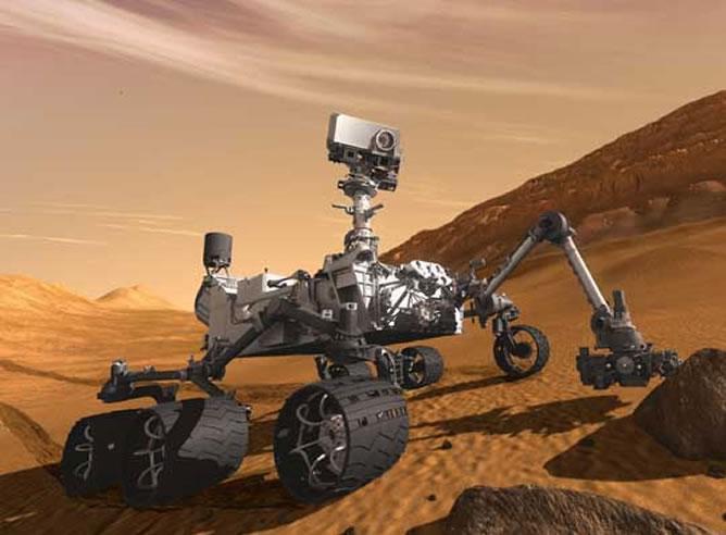 Curiosity confirma que un viaje a Marte supera límites de radiación