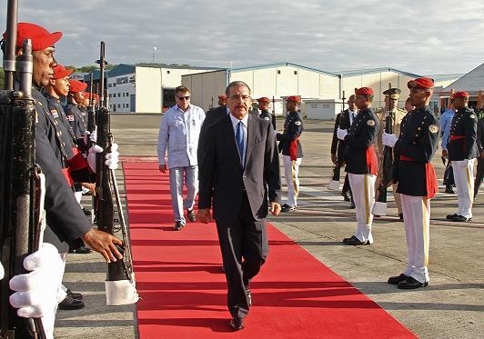 Presidente Medina viajará a Costa Rica y Venezuela este fin de semana