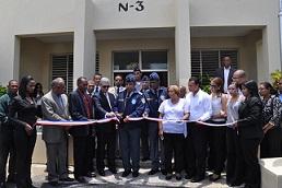 Inauguran destacamento PN en Los Guarícanos