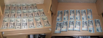 Ocupan miles de dólares y pesos en una vivienda de SDE, informa DNCD