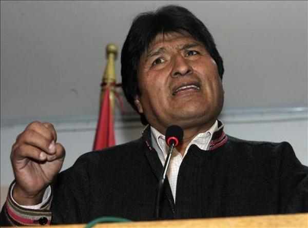 Gobierno boliviano denuncia conspiración en protestas sindicales