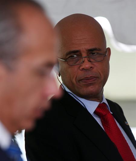 Martelly destaca avances pero también tarea por delante al cumplir dos años
