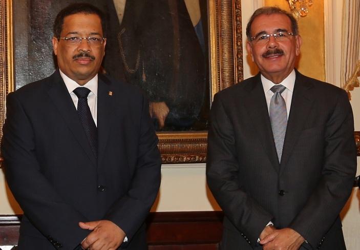 Roberto Rosario habla con el Presidente sobre presupuesto de JCE