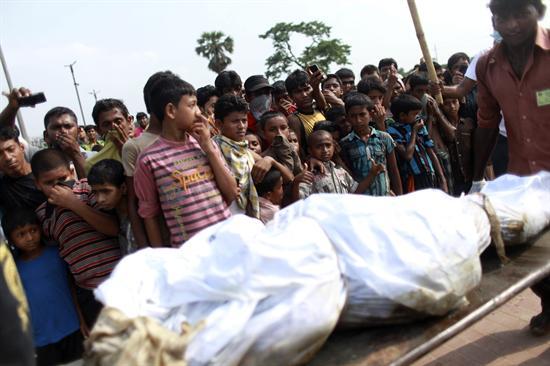 La cifra de muertos en el derrumbe de Bangladesh supera los 600