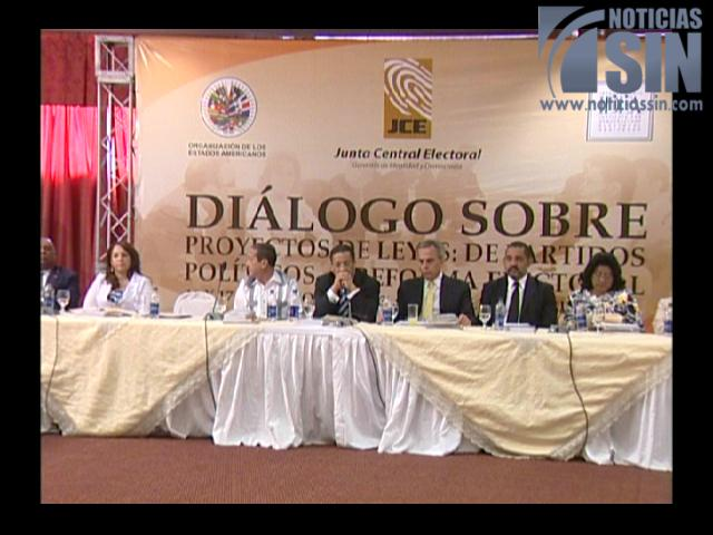 Diversos puntos de Ley de Partidos generan polémica en debate