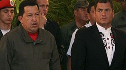 Rafael Correa: ¿Heredero del liderazgo de Hugo Chávez?