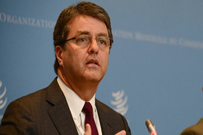 Eligen a brasileño Roberto Azevedo presidente de la OMC