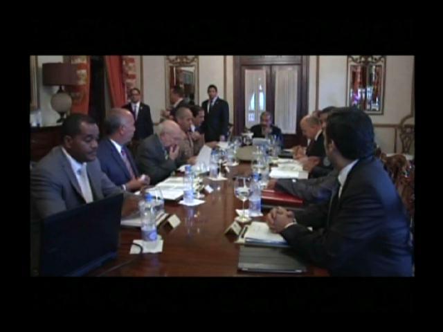 ¡Por delincuencia! Presidente Medina se reúne con Consejo de Seguridad