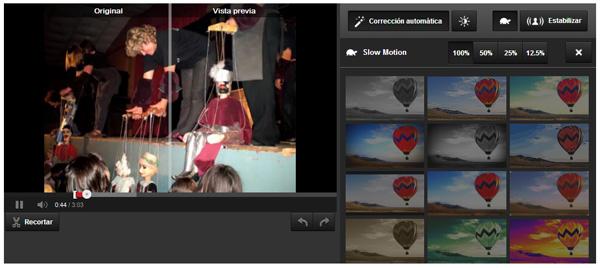 YouTube ya permite editar vídeos en Slow Motion