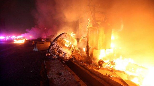 Suman 18 muertos y 36 heridos en explosión camión cisterna en México