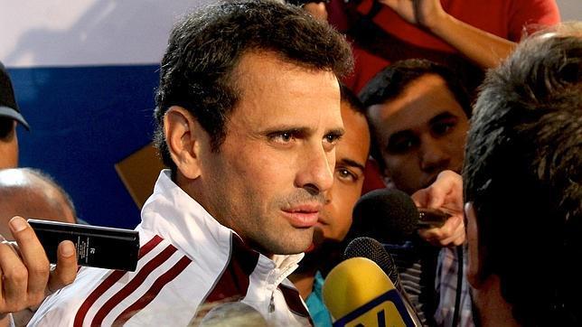 Capriles impugnará este jueves las elecciones en Venezuela