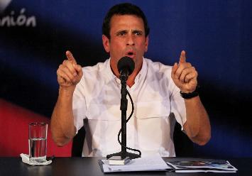 El equipo de Capriles impugna todo proceso electoral del 14 de abril