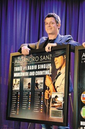 Declaran Día de Alejandro Sanz en Los Ángeles