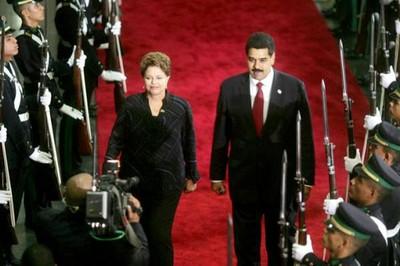 Dilma Rousseff recibirá en Brasilia al Presidente de Venezuela