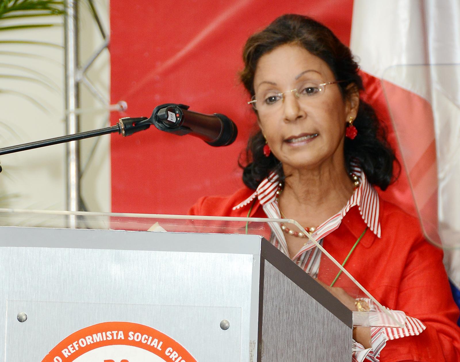 Dirigente reformista pide dar mayor participación a mujeres y juventud en PRSC