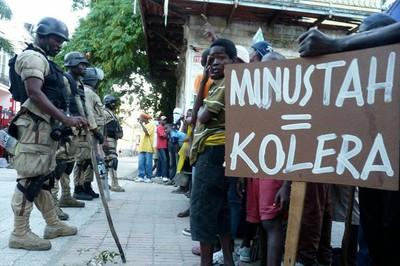 Haitianos amenazan con demandar a la ONU por epidemia de cólera