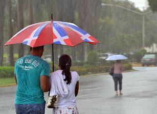 Onamet informa continuarán las lluvias este jueves