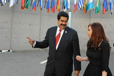 Nicolás Maduro continúa su gira de trabajo en Argentina