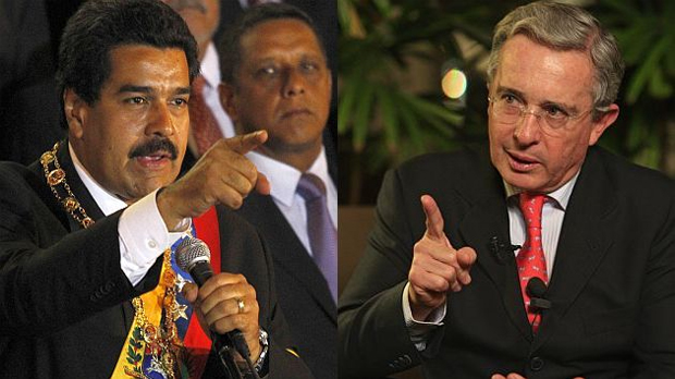 Maduro acusa expresidente colombiano Uribe de plan para asesinarlo