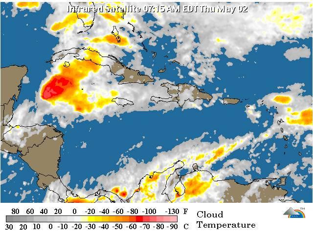 Viento continúa incidiendo en el país; habrá temperaturas calurosas