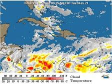 Meteorología pronostica lluvias por vaguada sobre el canal del viento