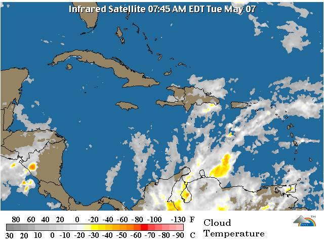 Lluvias incrementarán la tarde de este martes por vaguada,según ONAMET