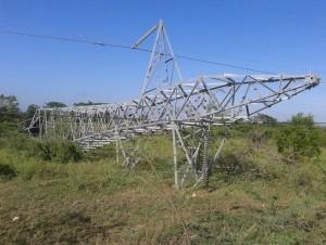 Daños en la agricultura y tendido eléctrico por lluvias en Montecristi