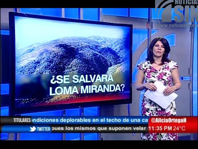 Loma Miranda: Desafío para presidente Medina