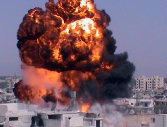 Siria califica de declaración de guerra ataque israelí