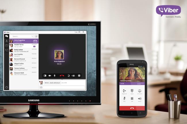 Viber lanza una versión de escritorio para Mac y Windows