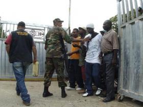 """Organizaciones pide al gobierno frenar """"embestida migratoria haitiana"""""""