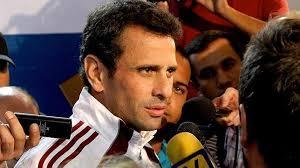 Capriles quiere informar a la ONU sobre verdad en Venezuela y anuncia marcha
