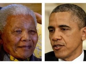Los Obama viajarán a Sudáfrica para el funeral de Mandela la próxima semana