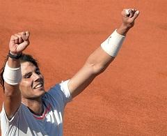 Nadal supera las dudas y vence a Klizan en su debut en Wimbledon