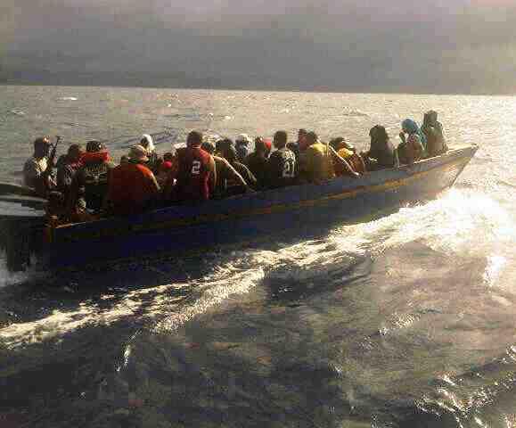 Detienen 84 personas viajarían a Puerto Rico en yola; 32 son haitianos