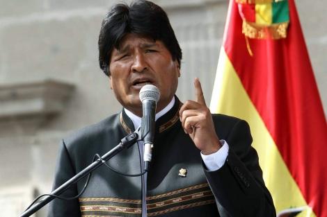 Morales se confunde y pide a Obama sacar a Mandela de lista de terroristas