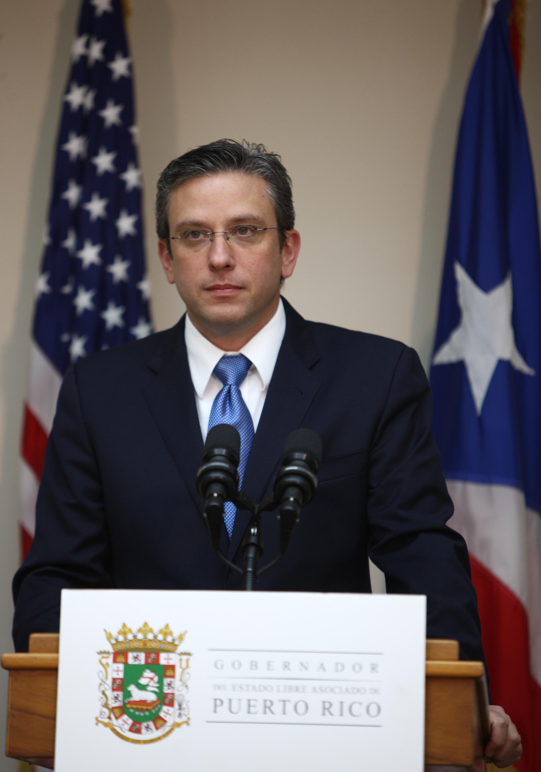 Gobernador de Puerto Rico pide unidad para superar la crisis económica